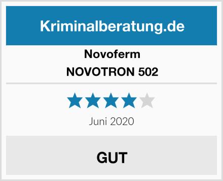 Novoferm NOVOTRON 502 Test