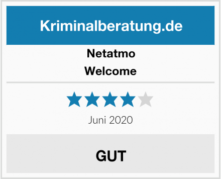Netatmo Welcome Test