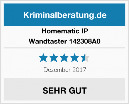 Homematic IP Wandtaster 142308A0 Test