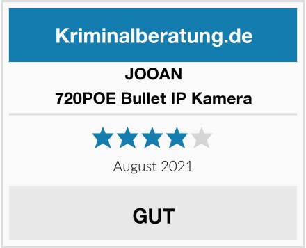 JOOAN 720POE Bullet IP Kamera Test