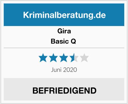 Gira Basic Q  Test