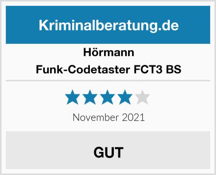 Hörmann Funk-Codetaster FCT3 BS Test