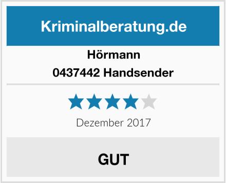 Hörmann 0437442 Handsender Test