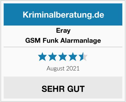 Eray GSM Funk Alarmanlage Test