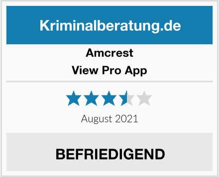 Amcrest View Pro App Test