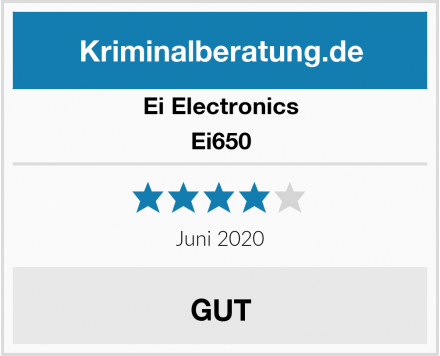 Ei Electronics Ei650 Test