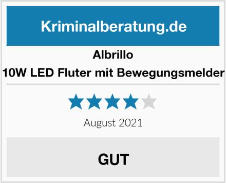 Albrillo 10W LED Fluter mit Bewegungsmelder Test