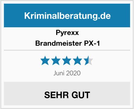 Pyrexx Brandmeister PX-1 Test