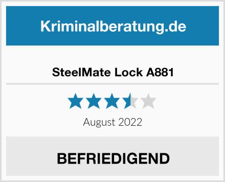 SteelMate Lock A881 Test