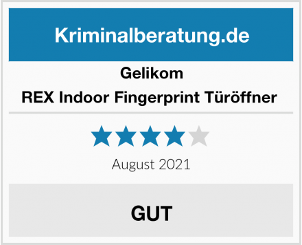 Gelikom REX Indoor Fingerprint Türöffner  Test