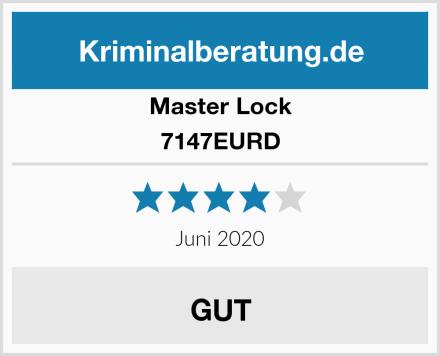Master Lock 7147EURD Test