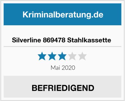 No Name Silverline 869478 Stahlkassette  Test