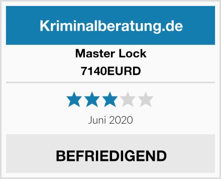Master Lock 7140EURD Test
