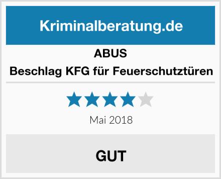 ABUS Beschlag KFG für Feuerschutztüren Test