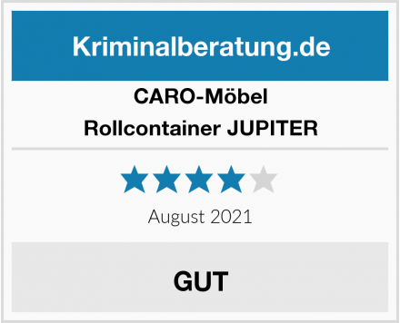 CARO-Möbel Rollcontainer JUPITER Test