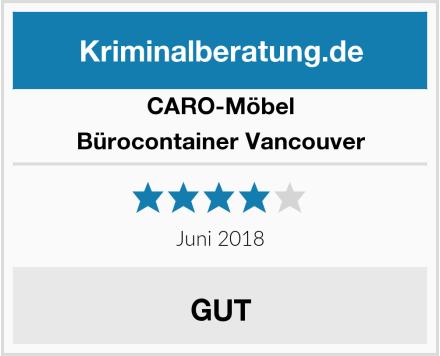 CARO-Möbel Bürocontainer Vancouver Test