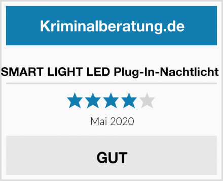 SMART LIGHT LED Plug-In-Nachtlicht  Test