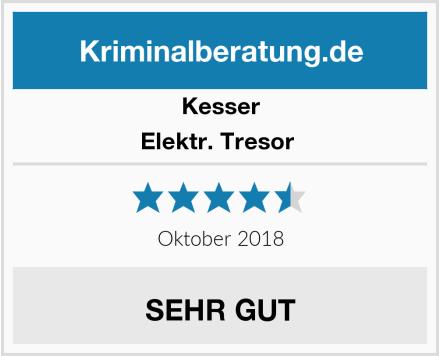 Kessler Elektr. Tresor  Test
