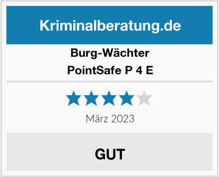 Burg-Wächter PointSafe P 4 E Test