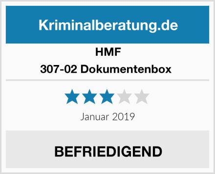 HMF 307-02 Dokumentenbox  Test