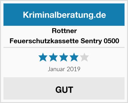 Rottner Feuerschutzkassette Sentry 0500 Test