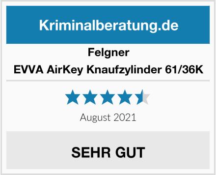 Felgner EVVA AirKey Knaufzylinder 61/36K Test