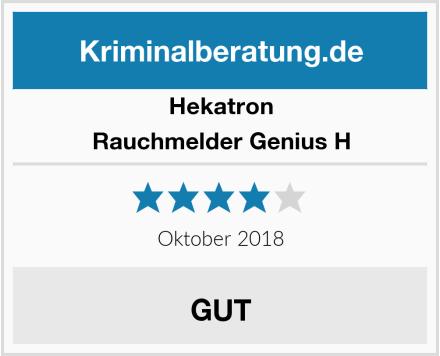 Hekatron Rauchmelder Genius H Test