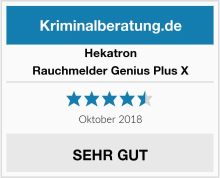 Hekatron Rauchmelder Genius Plus X Test