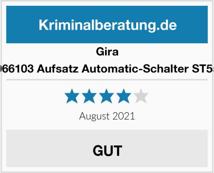 Gira 066103 Aufsatz Automatic-Schalter ST55 Test