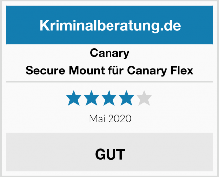 Canary Secure Mount für Canary Flex  Test