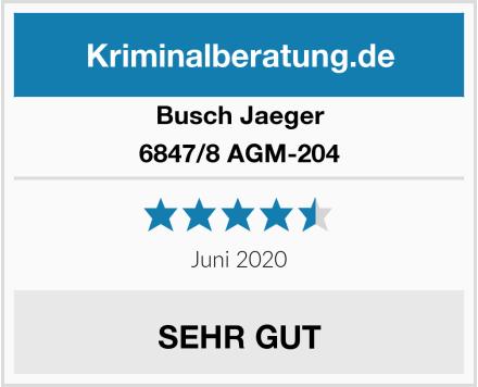 Busch-Jäger 6847/8 AGM-204 Test