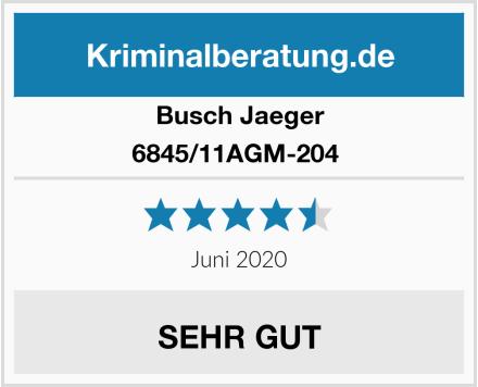 Busch-Jäger 6845/11AGM-204  Test