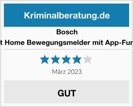 Bosch Smart Home Bewegungsmelder mit App-Funktion Test