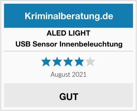 ALED LIGHT USB Sensor Innenbeleuchtung Test