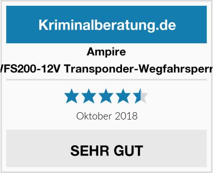 Ampire WFS200-12V Transponder-Wegfahrsperre Test