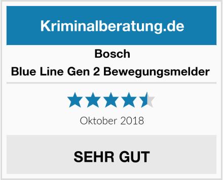 Bosch Blue Line Gen 2 Bewegungsmelder  Test