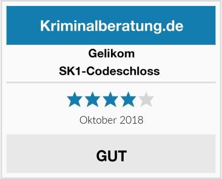 Gelikom SK1-Codeschloss  Test