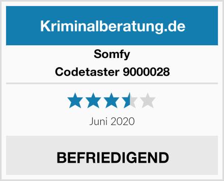 Somfy Codetaster 9000028 Test