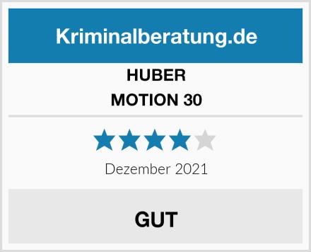 HUBER MOTION 30 Test