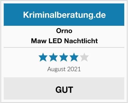 Orno Maw LED Nachtlicht Test