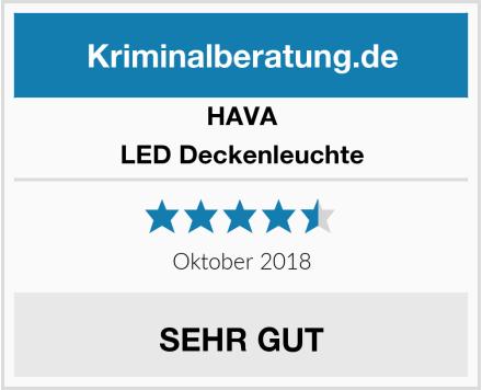 HAVA LED Deckenleuchte Test