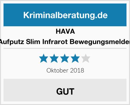 HAVA Aufputz Slim Infrarot Bewegungsmelder Test