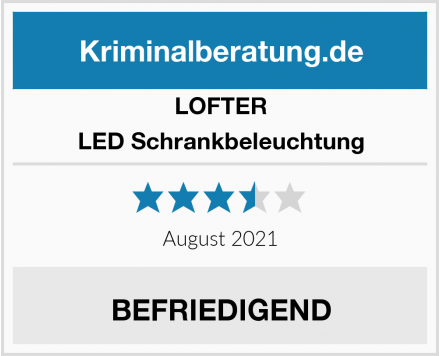 LOFTER LED Schrankbeleuchtung Test