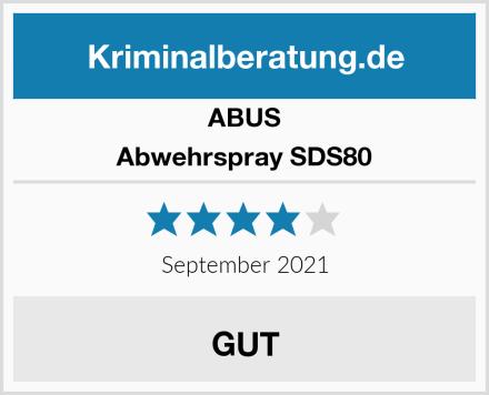 ABUS Abwehrspray SDS80 Test