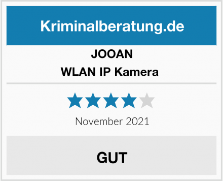 JOOAN WLAN IP Kamera  Test