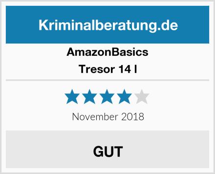 AmazonBasics Tresor 14 l Test