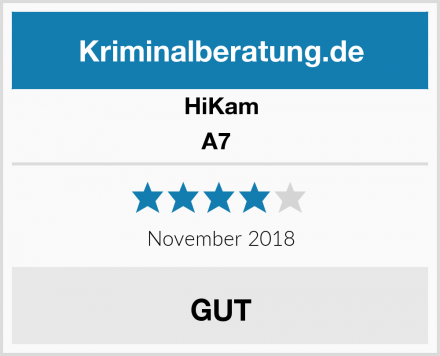 HiKam A7  Test