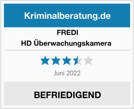 FREDI HD Überwachungskamera  Test