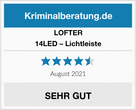 LOFTER 14LED – Lichtleiste Test