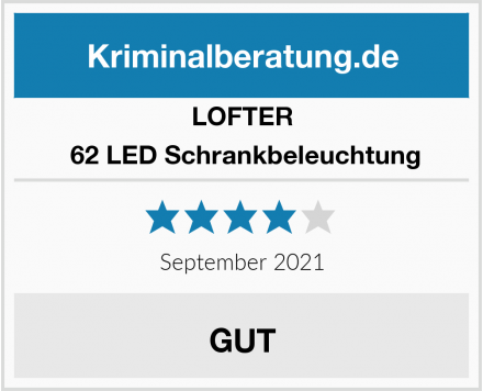 LOFTER  62 LED Schrankbeleuchtung Test